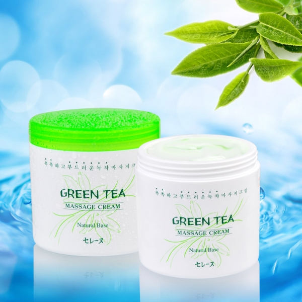 Kem massage trà xanh Mira - Mira Green Tea Massage Cream 450g