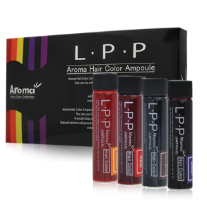 Nhuộm tóc dạng ống Aroma LPP Aroma Hair Color Ampoule ( 12 ống)