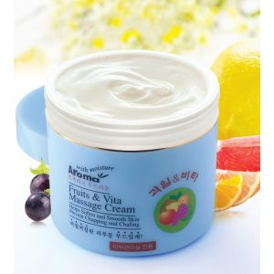 Kem massage trái cây và vitamin chống lão hoá AROMA fruit & vita massage cream