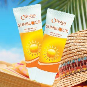 Kem chống nắng Olivia Mira
