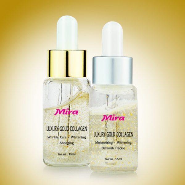 Huyết thanh tinh chất vàng & collagen đặc trị lão hoá da, tái tạo tế bào dưỡng trắng sáng ngày và đê