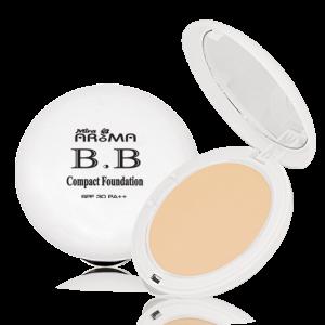 Phấn nén kết hợp kem nền siêu mịn Mira Aroma BB Compact Foundation