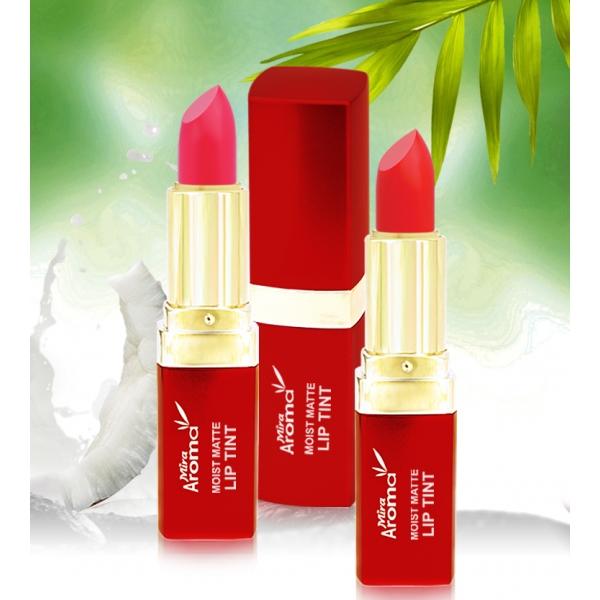 Son dưỡng ẩm tạo màu lâu trôi Mira Aroma Moist Matte Lip Tint