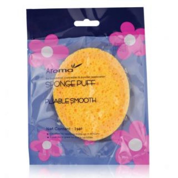 Bông phấn bọt biển massage mặt Aroma