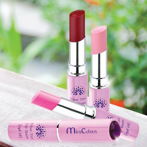 Son dưỡng tạo màu lâu trôi MiraCulous Glow Tint Lip (SPF18)