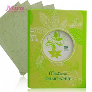 Giấy thấm dầu tinh chất trà xanh MIRA CULOUS