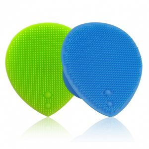 Dụng cụ rửa và massage mặt silicon mềm dẻo SURI