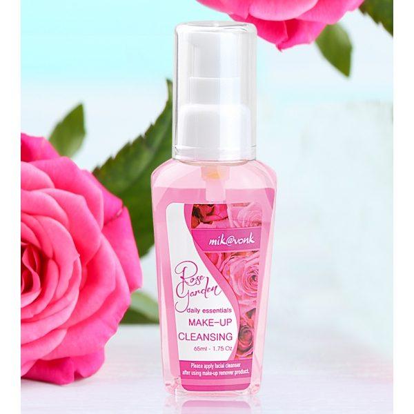 Dung dịch tẩy trang hoa hồng se khít lỗ chân lông MIK@VONK Rose garden make up cleansing water