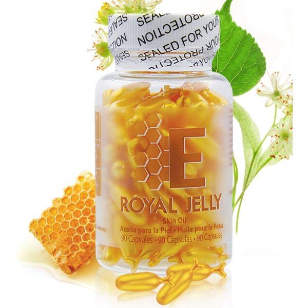 Viên tinh chất dưỡng da sữa ong chúa chuyên sâu, mờ nám, chống lão hoá, sáng da