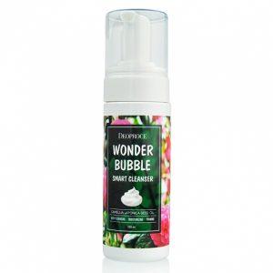 Dùng dịch rửa mặt tạo bọt tinh dầu hoa trà nhật bản sạch sâu mềm da ngăn mụn Deoproce Wonder Bubble Smart Cleanser