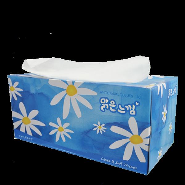 Khăn giấy khô cao cấp (180 tờ/hộp)