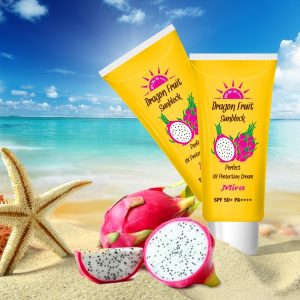 Kem Chống Nắng Dưỡng Ẩm Thanh Long Dragon Fruit Powerful Sun Essence