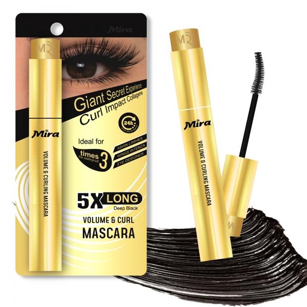 Volume & Curl Mascara Mira - Mascara Làm Cong Và Dày Mi Mira