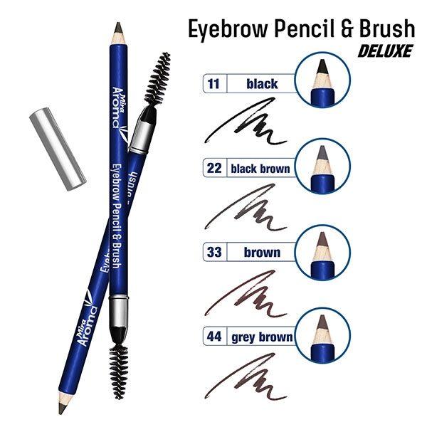 Chì vẽ mày Mira Aroma Eyebrow Pencil & Brush