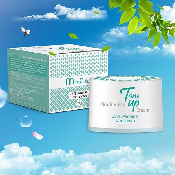 Kem Dưỡng Trắng, Nâng Tone Da Miraculous Brightening Tone Up Cream