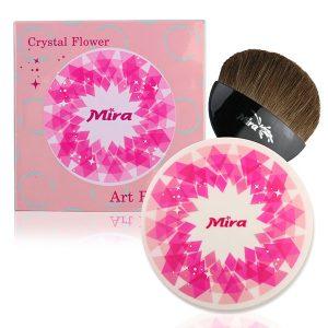 Phấn Má Hồng Mira Crystal Flower Art Blusher