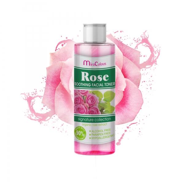 Nước hoa hồng MIRA CULOUS se khít lỗ chân lông, sáng da không chứa Parapen