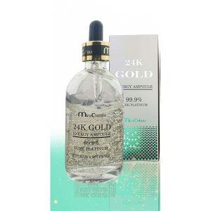 Tinh Chất Dưỡng Da Miraculous 24K Gold Energy Ampoule 99.9% Pure Platium