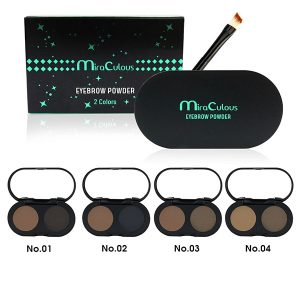 Bột Kẻ Mày 2 Ô Miraculous Eyebrow Powder 2 Colors