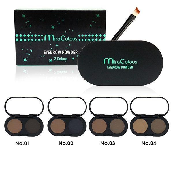 Bột Kẻ Mày 2 Ô Miraculous Eyebrow Powder 2 Colors
