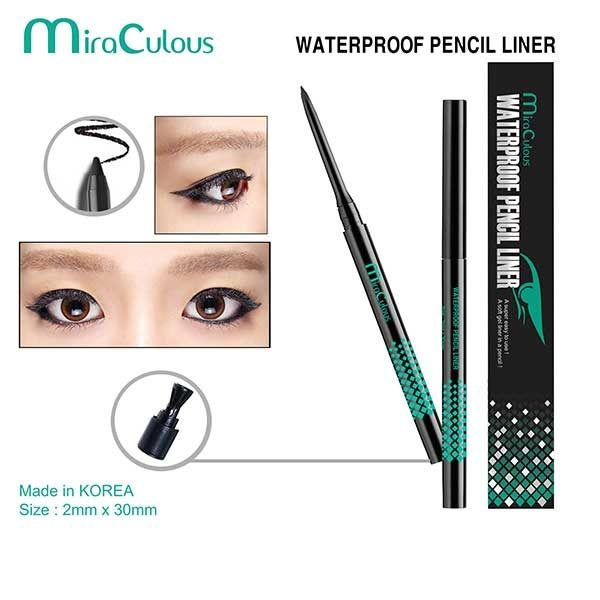 Gel Kẻ Mí MiraCulous Waterproof Pencil Liner