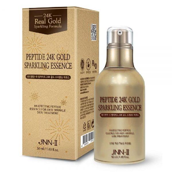 Tinh Chất Dưỡng Trắng, Chống Lão Hóa Da Peptide 24k Gold Sparkling Essence JNN-II