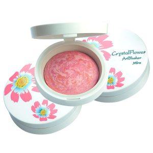 Phấn má hồng hoa cương MIRA Crystal flower art blusher