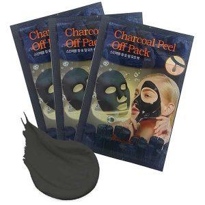 Mặt Nạ Lột Than Đen Hoạt Tính SkinApple Charcoal Peel Off Pack